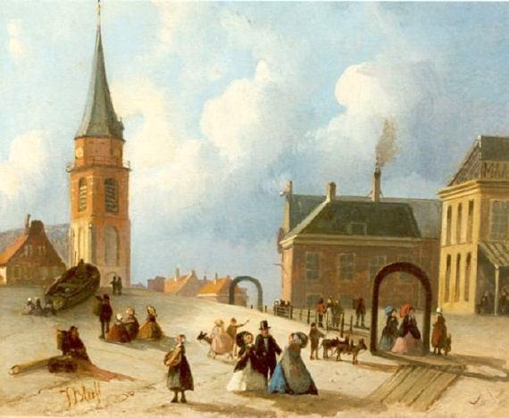 Uitgelezene Schilders van het strand van Scheveningen in de 19e Eeuw (1800-1900) TL-55